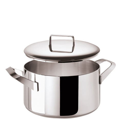 Menu Saucepot 2 handles and  Lid, stainless steel, 11 inch - LIFE MODERNE