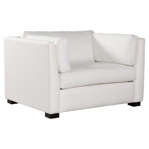 Monroe Super Chair | Snow