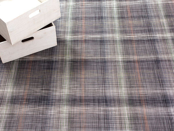 Plaid Floor Mat by Chilewich | Grey - LIFE MODERNE