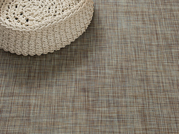 Mini Basketweave Floor Mat by Chilewich | Pistachio - LIFE MODERNE