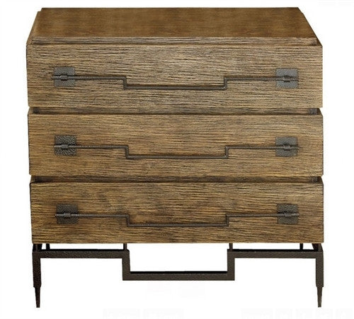 3 Drawer Wide Chest | Global Views - LIFE MODERNE
