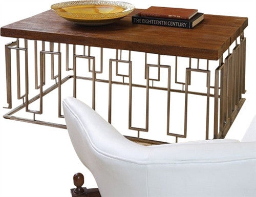 Global Views Pinned Key Cocktail Table - LIFE MODERNE