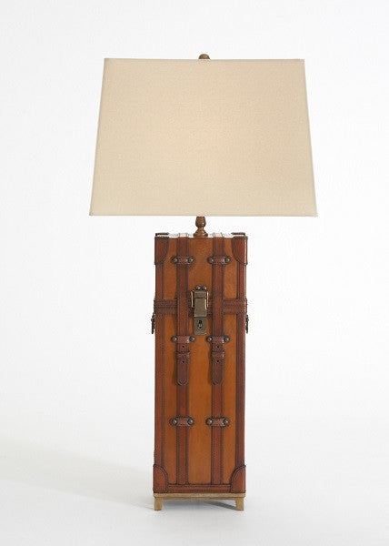 Brighton Leather Table Lamp - LIFE MODERNE