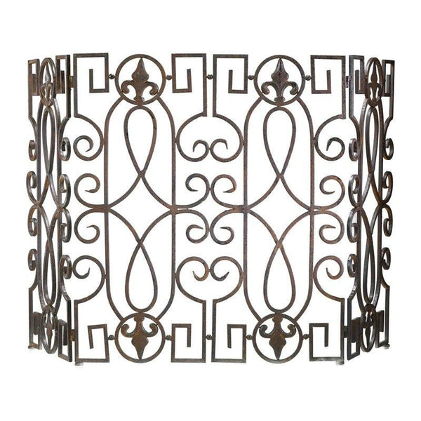 Wrought Iron Fire Screen by Cyan Design - GDH | The decorators department Store
