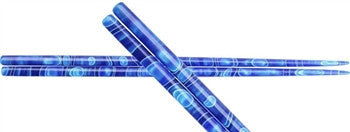 Blue Ribbons Colorful Handmade Acrylic Chopsticks - LIFE MODERNE