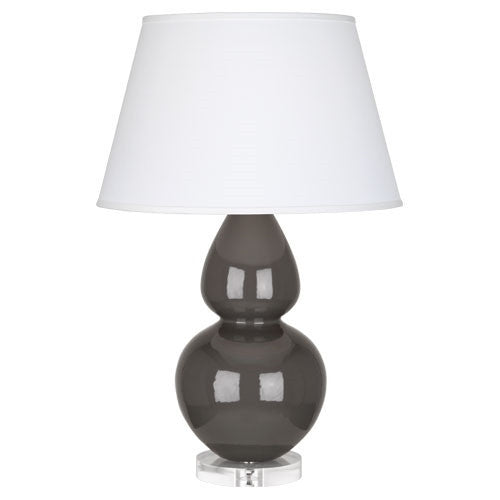 "Ash Double Gourd 31"" Lamp - LIFE MODERNE"