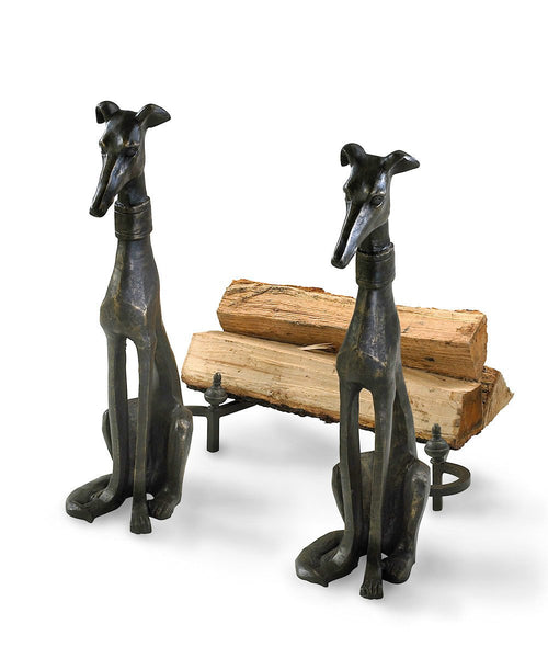Dog Andirons - GDH | The decorators department Store