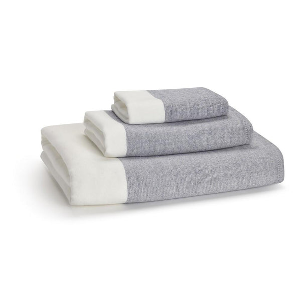 Greenwich Towels S/3 | Indigo