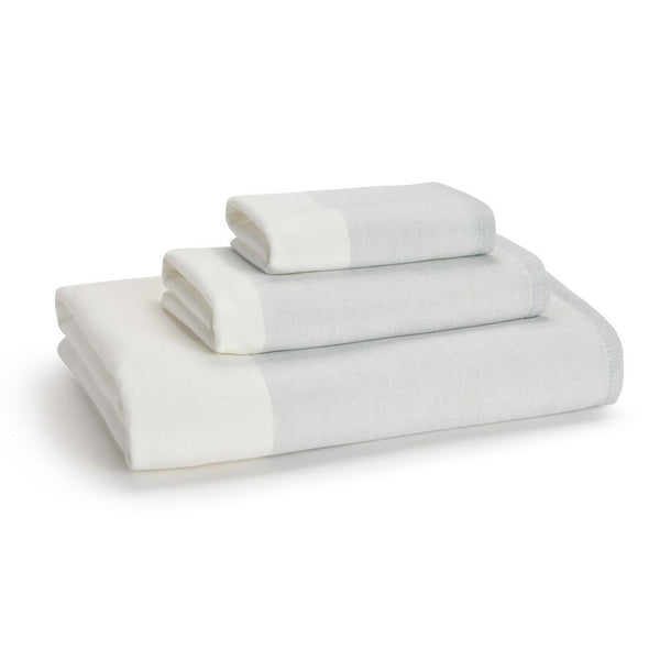 Greenwich Towels S/3 | SeaGlass