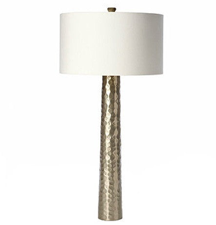 Barbara Cosgrove | Hammered Silver Lamp - GDH | The decorators department Store