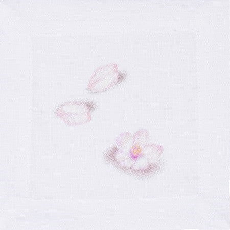 Blossom Linen Cocktail Napkin-Set of 4 - LIFE MODERNE