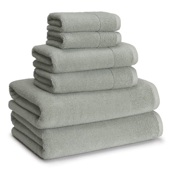 Kyoto Towels Set of 6 | Misty Sage