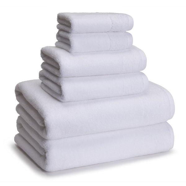 Kyoto Towels Set of 6 | White
