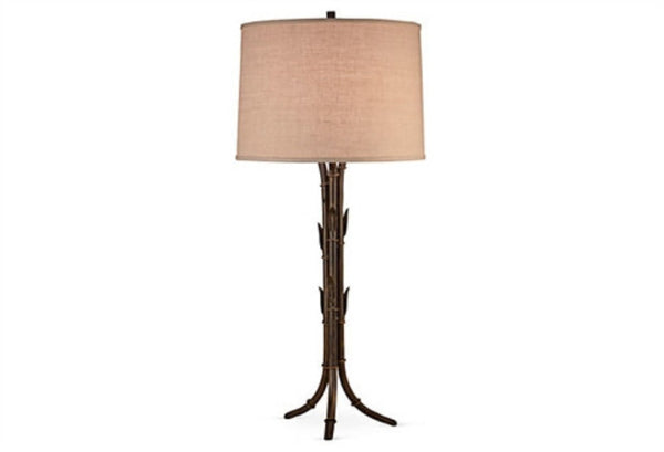 Dessau Home Bronze Bamboo Table Lamp - LIFE MODERNE