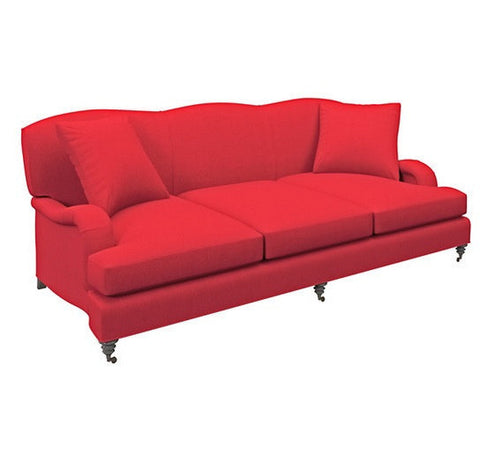 Litchfield 3 Seater Sofa | Red - LIFE MODERNE