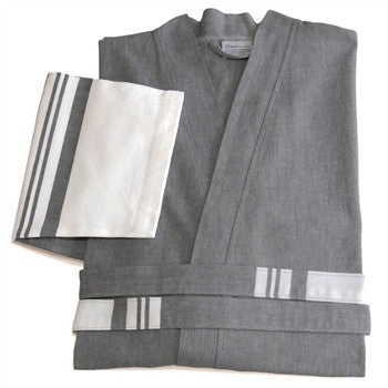 big-and-tall-unisex-super-luxe-pestemal-bathrobe-grey - LIFE MODERNE
