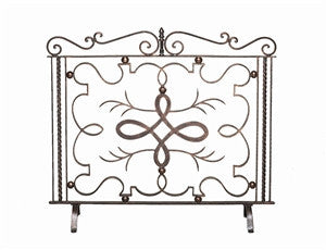 Bronze Firescreen with Verdi Highlights - LIFE MODERNE