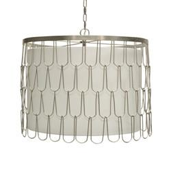 Rivers Hanging Pendant in Silver - GDH | The decorators department Store