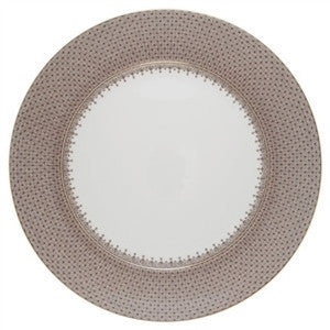Mottahedeh Lace Service Plate - Brown - LIFE MODERNE