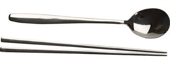 Korean Spoon and Stainless Steel Chopsticks Set - LIFE MODERNE