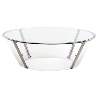 Large Oval Cona Cocktail Table by Spectrum - LIFE MODERNE