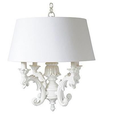 Barbara Cosgrove Chandelier with Large Shade - GDH | The decorators department Store