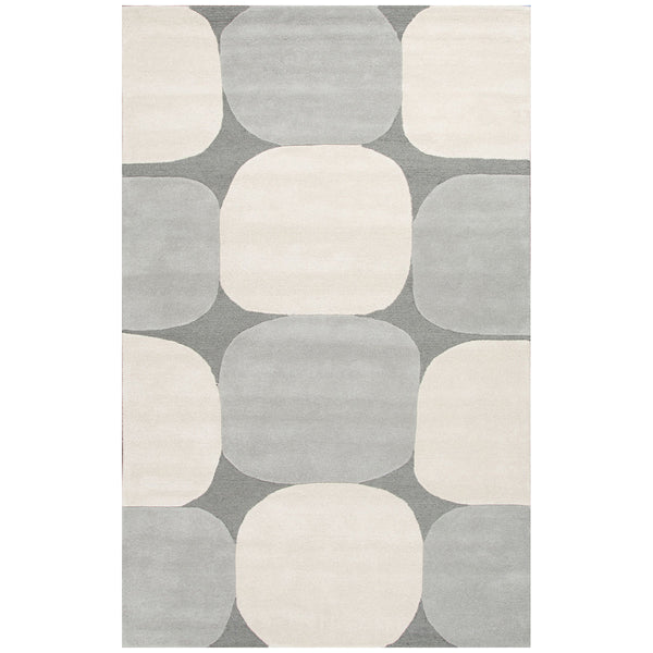 Jaipur Lounge Zenia Charcoal/Antique White  Area Rug - LIFE MODERNE