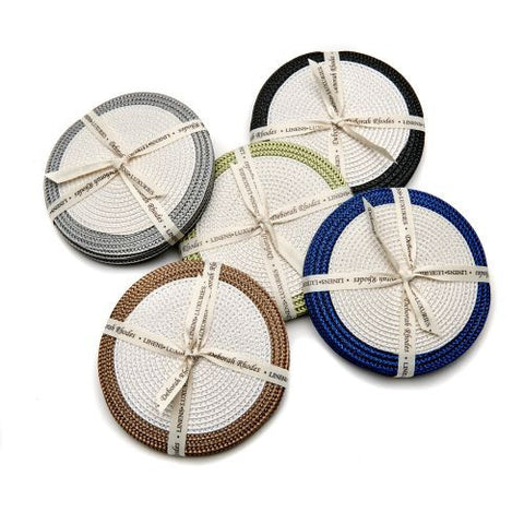 Deborah Rhodes Boarder Coasters-Set of 4 - LIFE MODERNE - 1