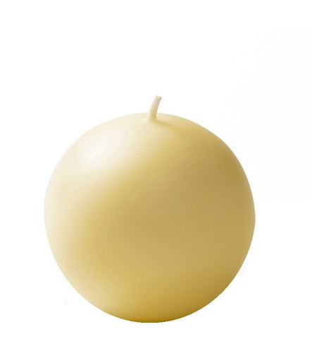 "Ball Candles XL 4""-Set of 2 - LIFE MODERNE"
