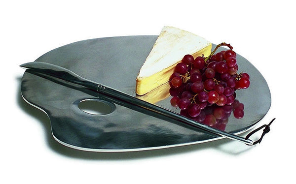 Artist Palette Cheeses Plate with Knife - LIFE MODERNE - 1