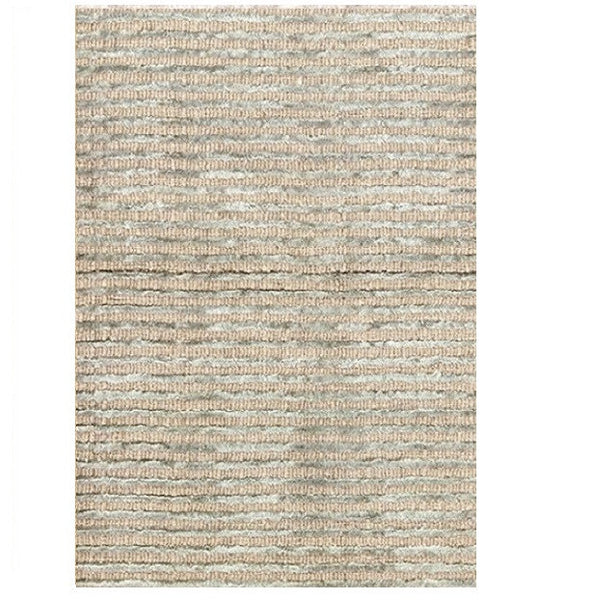 Cut Stripe Ocean Hand Knotted Rug - LIFE MODERNE