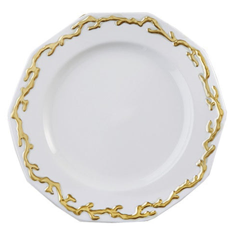 Mottahedeh Barriera Corallina Gold Dinnerware Collection - LIFE MODERNE - 1