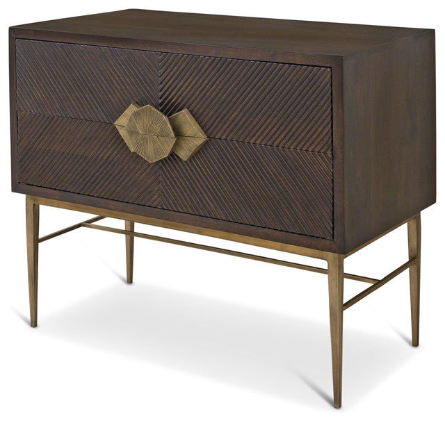Galapagos Two Drawer Chest - LIFE MODERNE