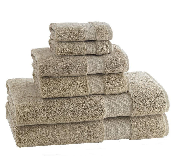ELEGANCE TOWELS | Set of 6| Sand - LIFE MODERNE - 1