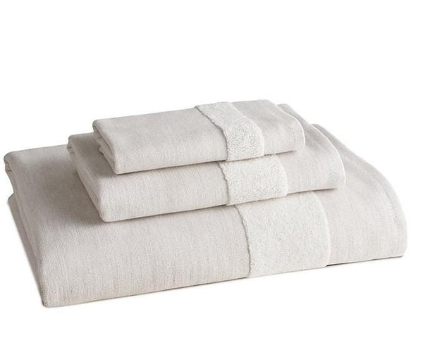 FLATIRON TOWELS | Set of 3 | Natural - LIFE MODERNE - 1