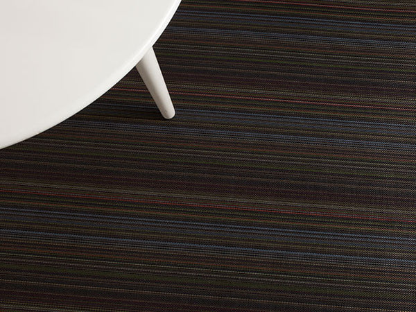 Multi Stripe Floor Mat by Chilewich | Jewel - LIFE MODERNE