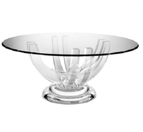 Acrylic Bridgetown Dining Table - LIFE MODERNE