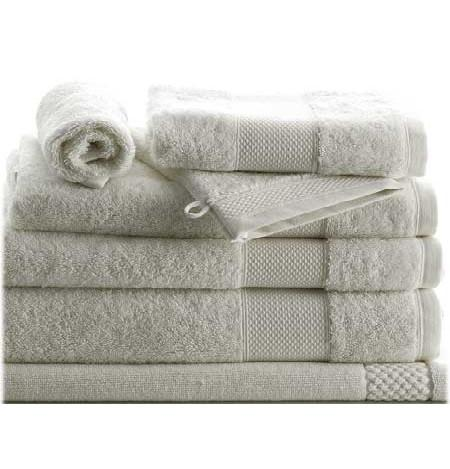 8 Piece Set Petale Agave Towels by Anne de Solene - GDH | The decorators department Store