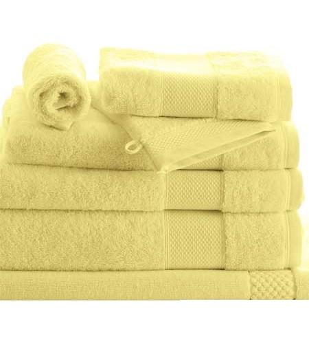 8 Piece Petale Jonquil Towels by Anne de Solene - GDH | The decorators department Store
