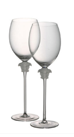 Versace Medusa Lumiere Red Wine Glass - LIFE MODERNE