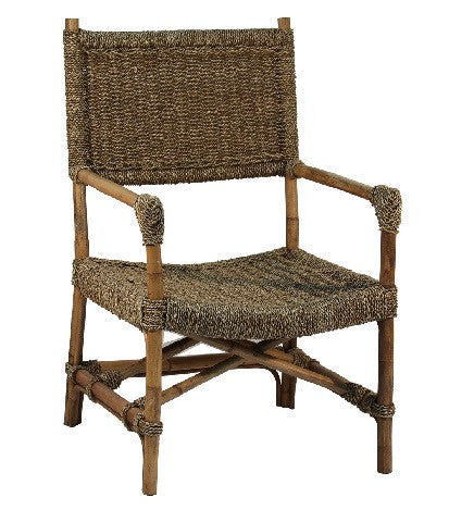 Simple Seagrass Chair - LIFE MODERNE