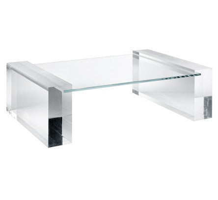 "Acrylic Cocktail Table Base "" Zagreb "" - LIFE MODERNE"