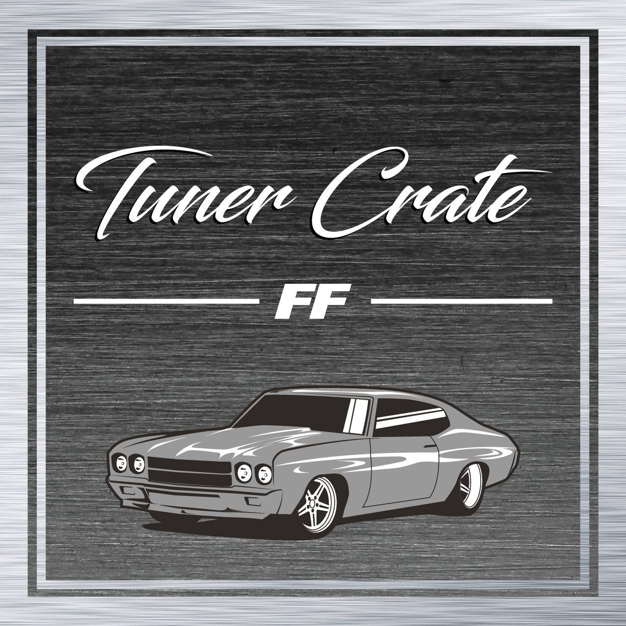 Fast and Furious Chevelle Member Sticker
