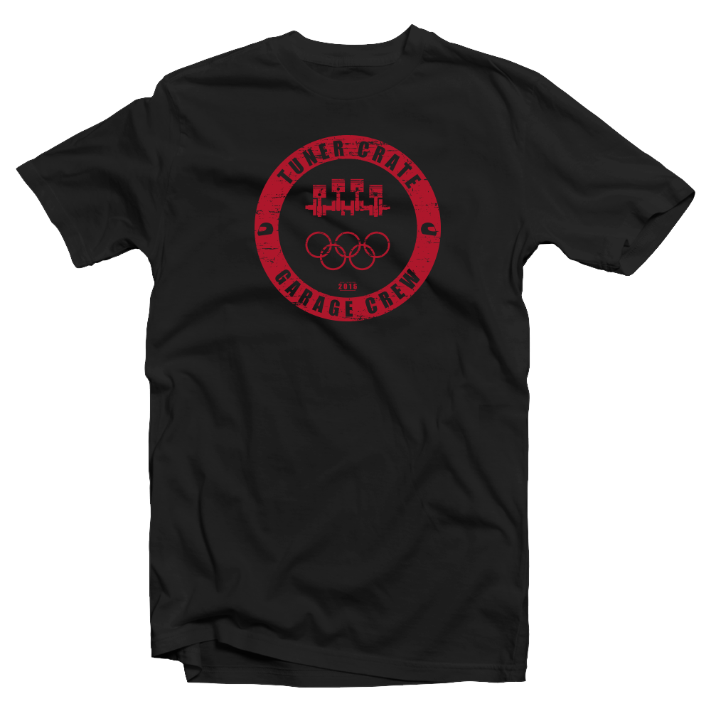 2016 Olympic Games x Tuner Crate Collab Shirt