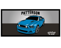 ThatDudeInBlue Mustang Sticker