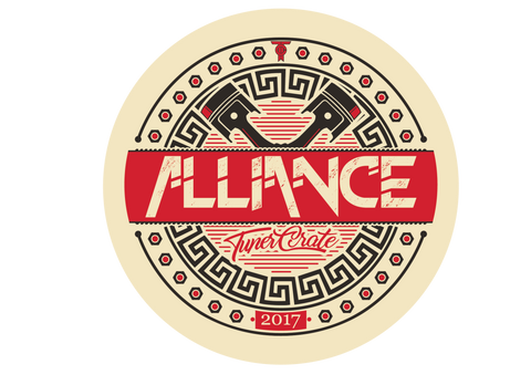 Alliance Piston Sticker