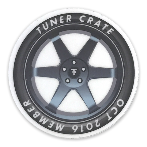 6 Spoke Wheel Sticker