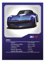 C2 Chevrolet Corvette Tuner League Card