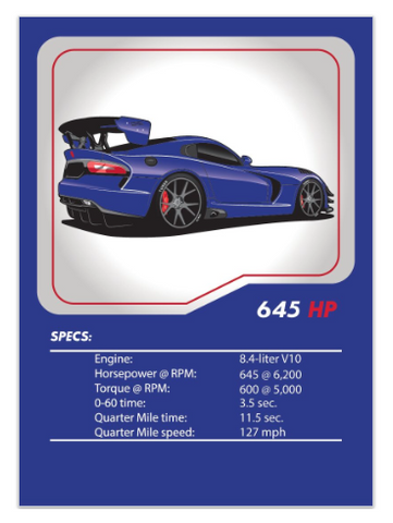 Viper ACR Tuner League Card
