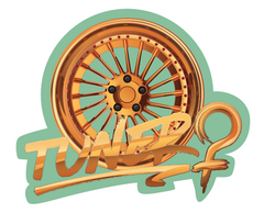 Tuner Girl Wheel Air Freshener